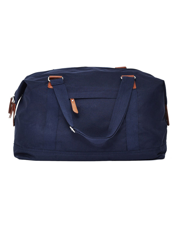 The Idle Man - Vintage Overnight Bag Navy