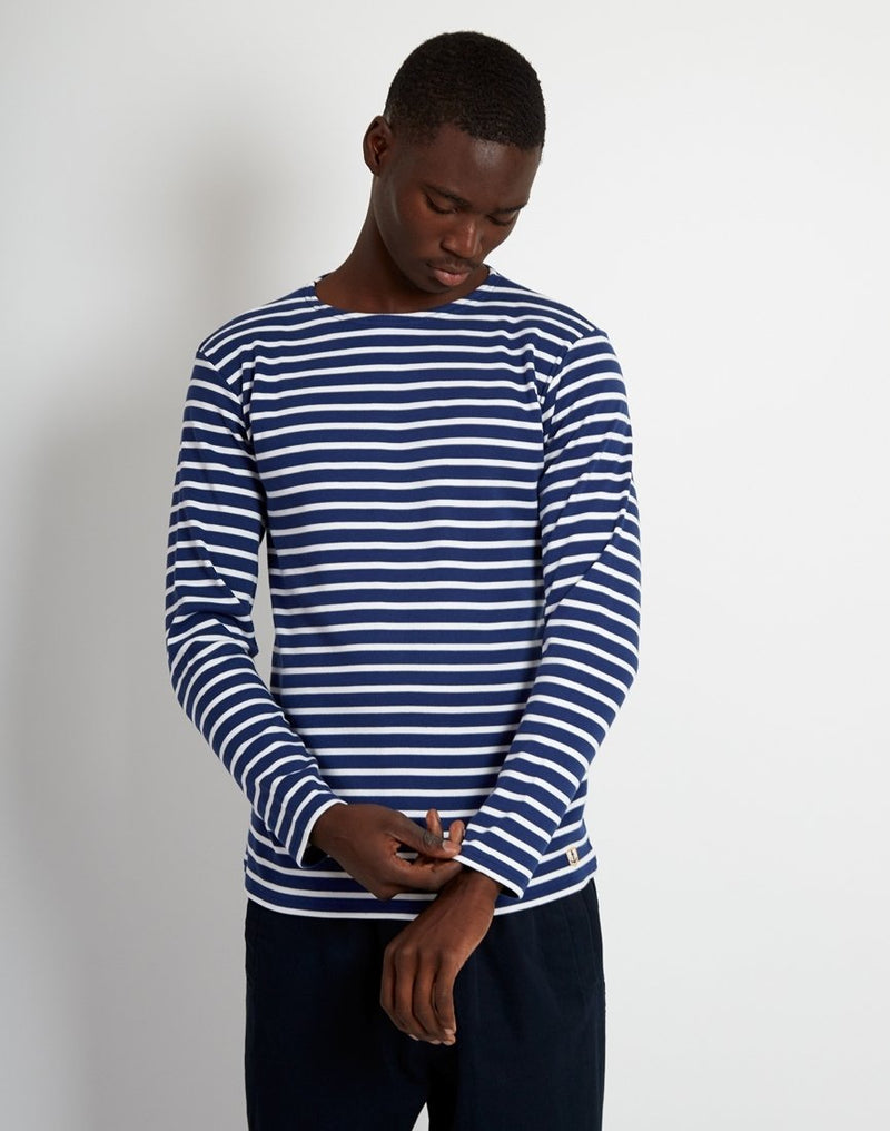 Armor Lux - Mariniere Heritage Long Sleeve T-Shirt Navy & White