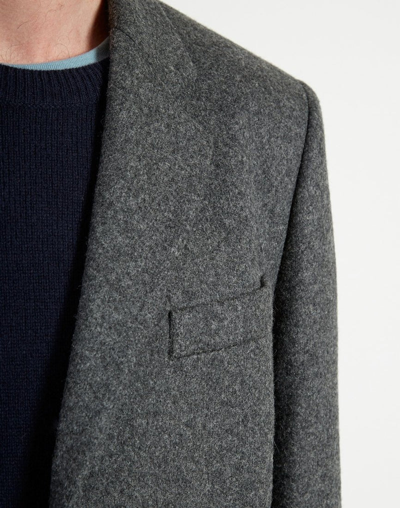 Folk - Three Four Coat Grey Melange