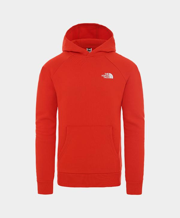 The North Face - Raglan Redbox Hoodie Red