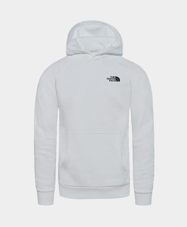 The North Face - Raglan Redbox Hoodie White