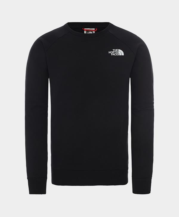 The North Face - Raglan Redbox Crew Sweatshirt Black