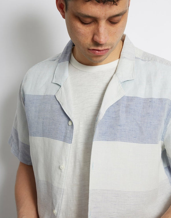 Levi's - Cubano Shirt Stripe Light Blue