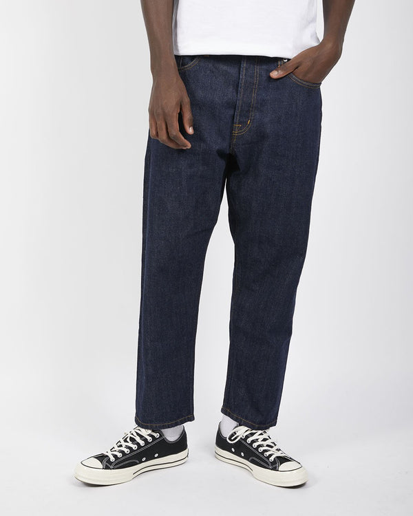 Albam - Japanese Denim Jeans in Taper Fit Navy
