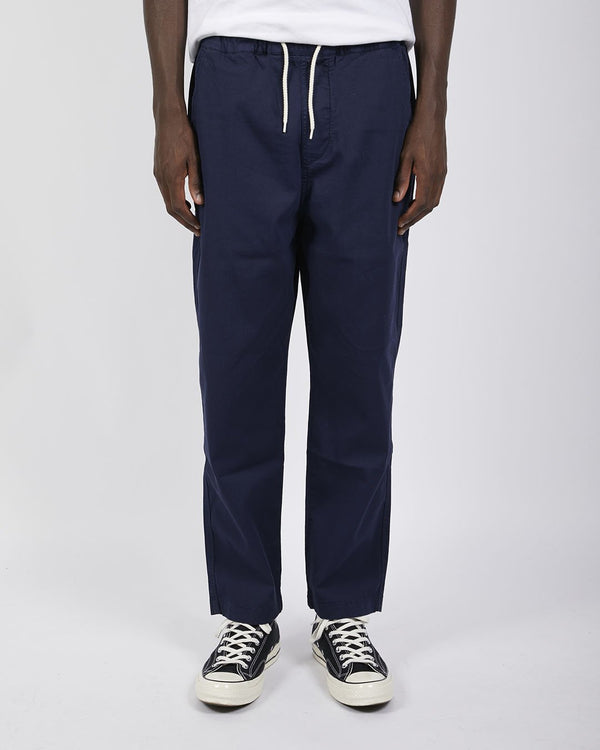Albam - Trent Drawstring Trousers Navy