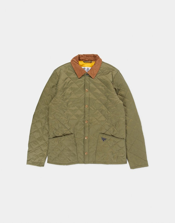 Barbour - Beacon Starling Quilt Jacket Moss Green