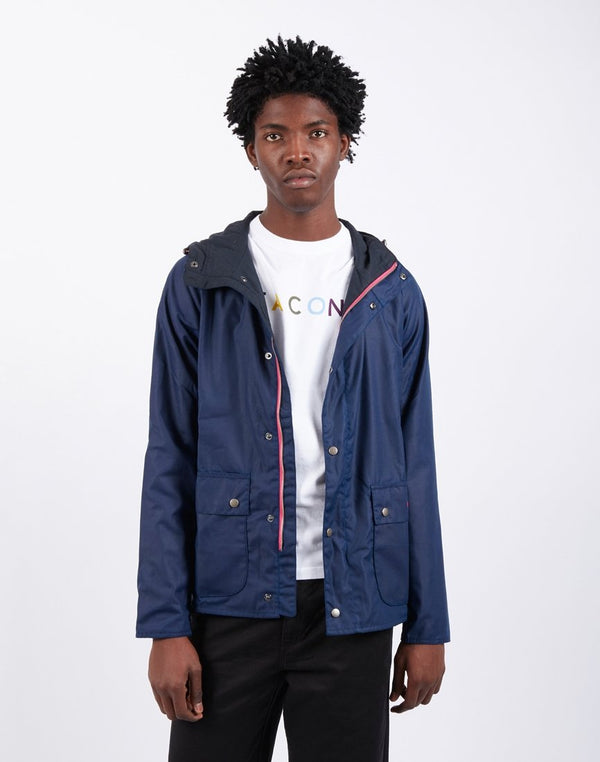 Barbour - Beacon Pass Wax Jacket Regal Blue