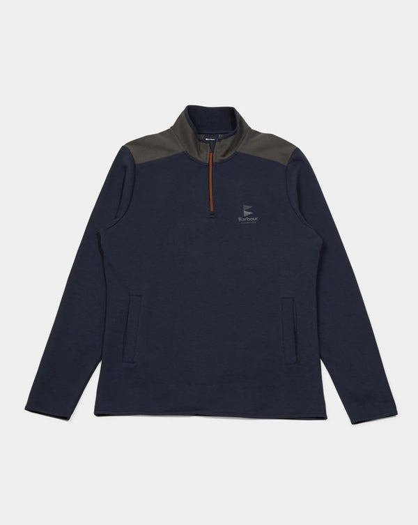 Barbour - Skiff Half Zip Jumper Navy