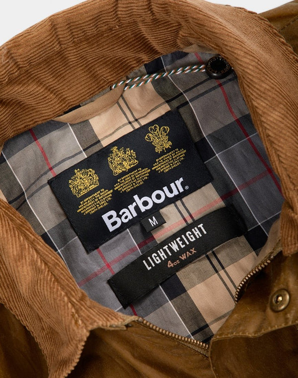 Barbour - Lightweight Ashby Wax Sand