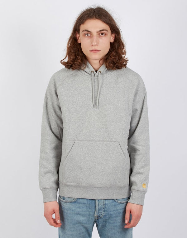 Carhartt WIP - Hooded Chase Sweatshirt Heather