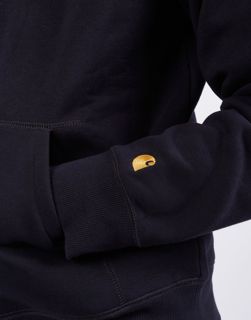 Carhartt WIP - Hooded Chase Sweatshirt Navy