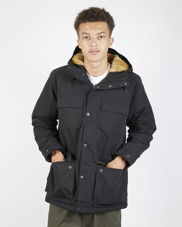 Carhartt WIP - Mentley Jacket with Pile Lining Black