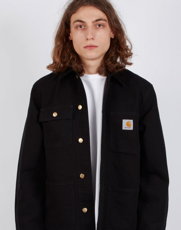 Carhartt WIP - Light Michigan Coat Black