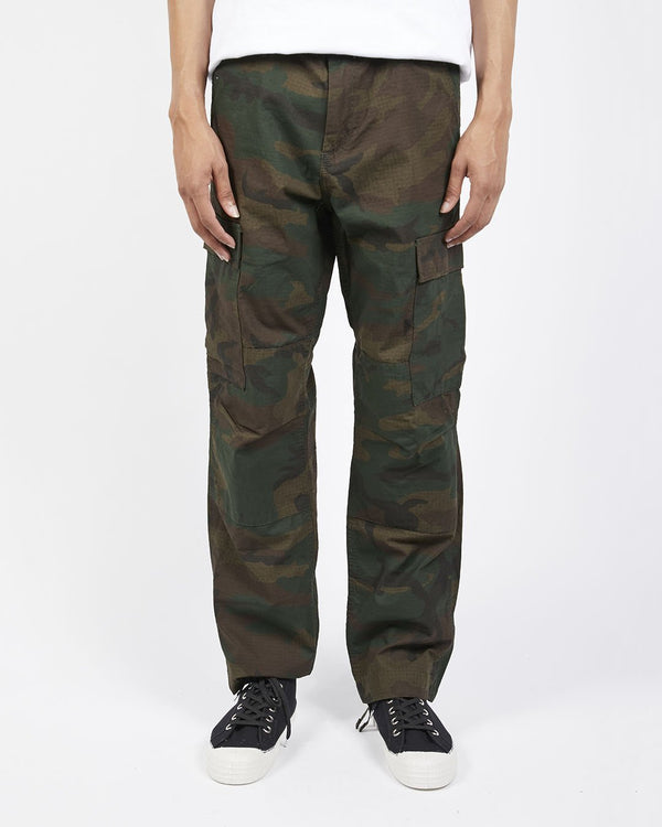 Carhartt WIP - Regular Cargo Pants Camo Green