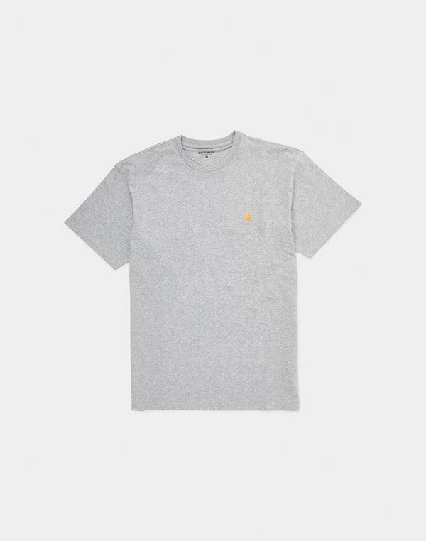 Carhartt WIP - Short Sleeve Chase T-Shirt Grey Heather
