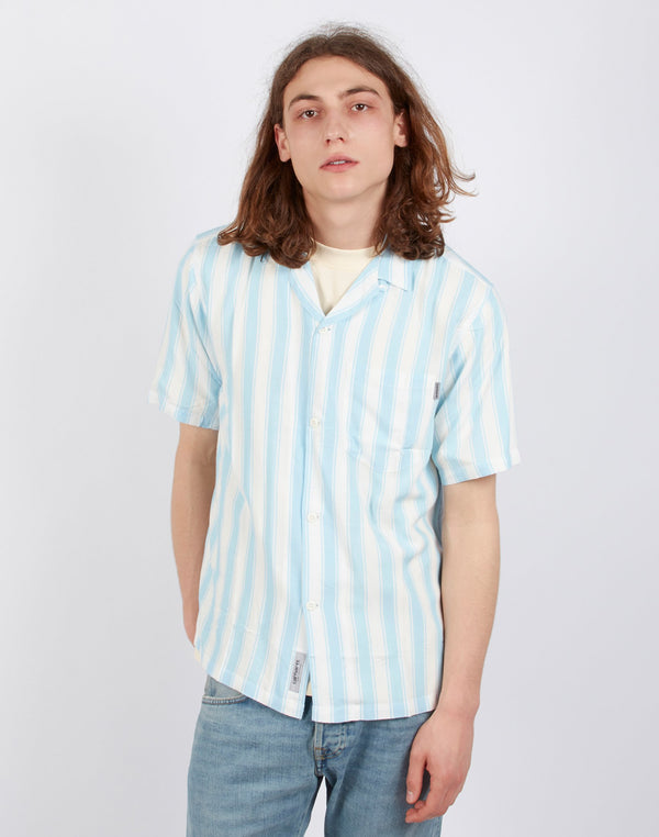 Carhartt WIP - Short Sleeve Esper Shirt Blue