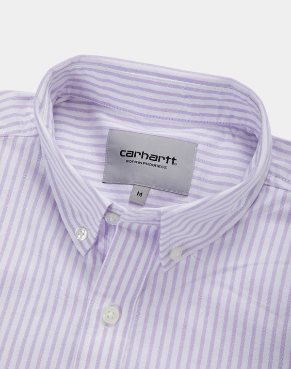 Carhartt WIP - Short Sleeve Karev Shirt Purple