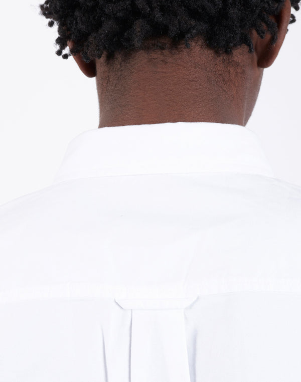 Carhartt WIP - Long Sleeve Button Down Pocket Shirt White