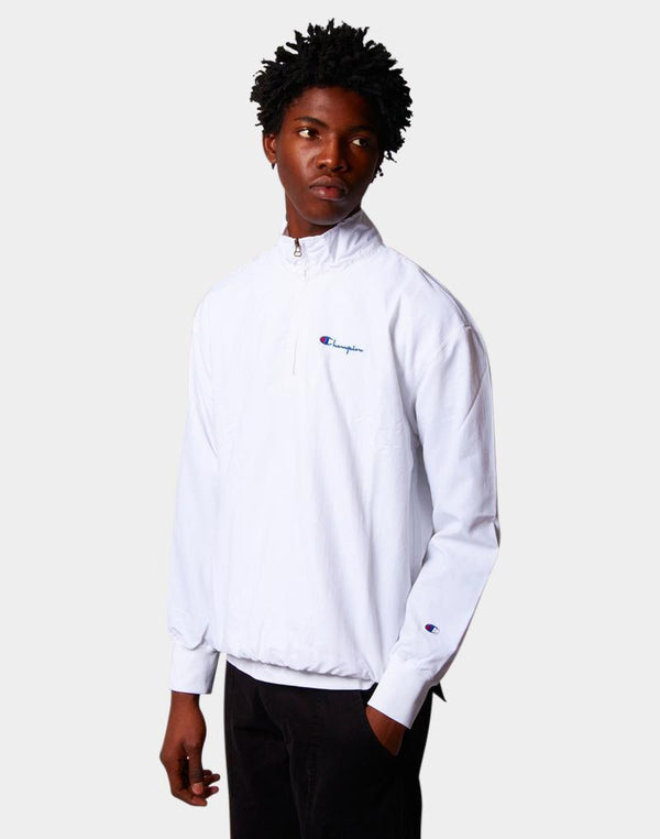 Champion - Half Zip Jacket White