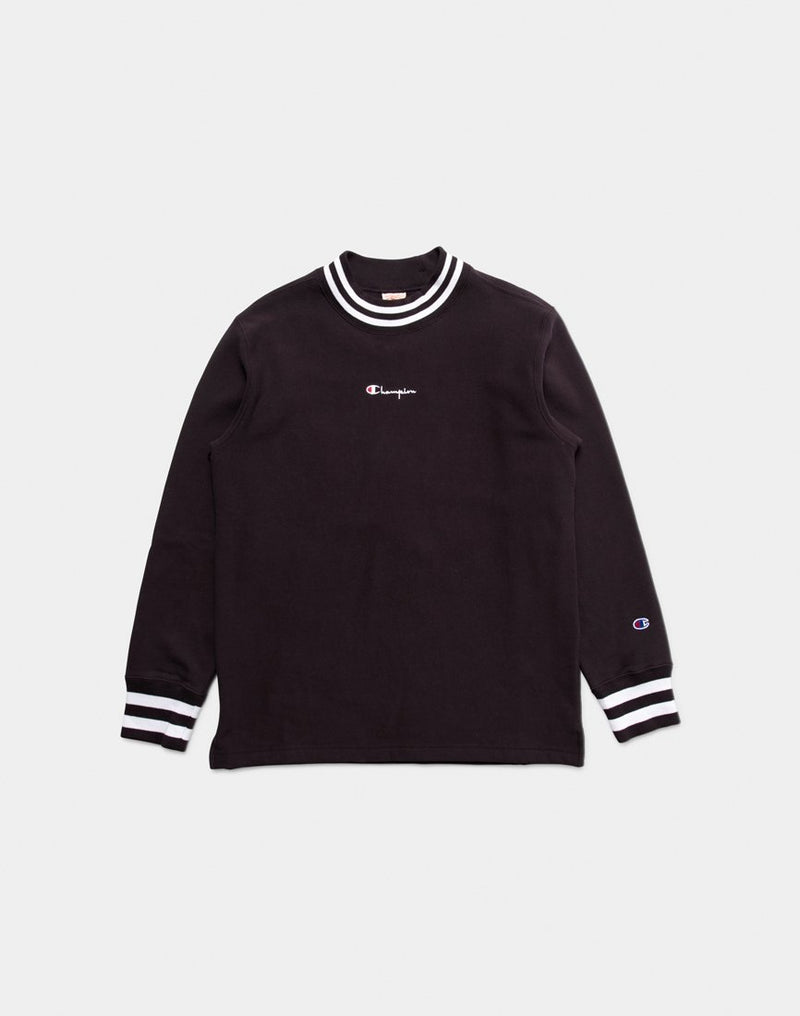 Champion - High Neck Sweatshirt Black