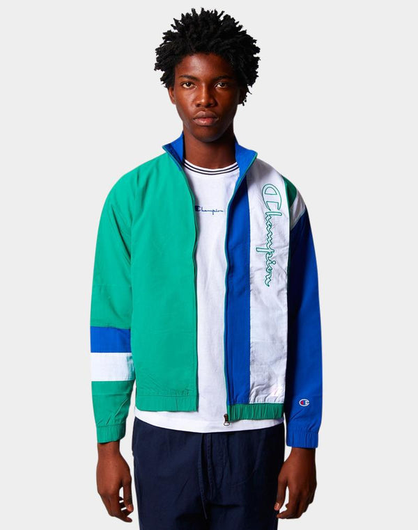 Champion - Peached Jacket Green Blue & White