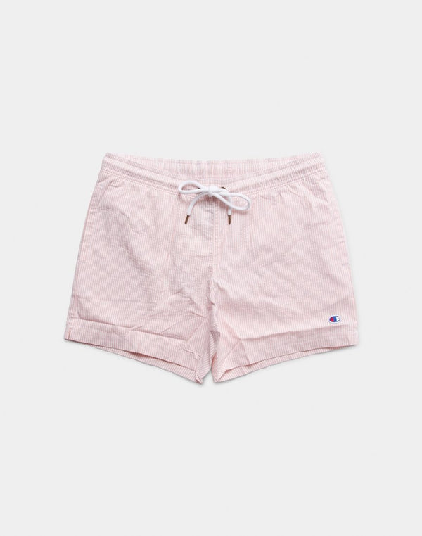 Champion - Seersucker Swim Shorts Pink