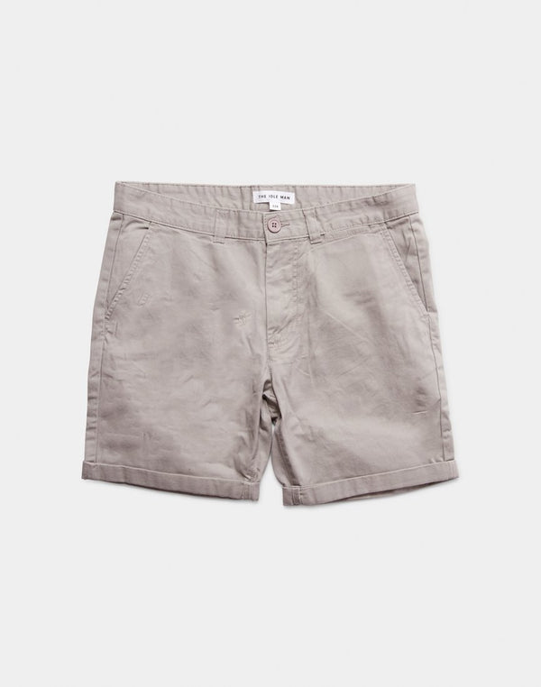 The Idle Man - Chino Shorts Grey