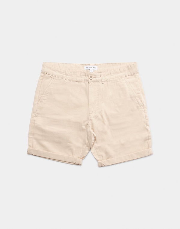 The Idle Man - Chino Shorts Stone