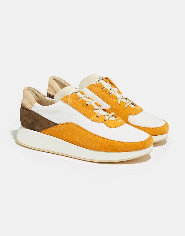 Clarks Originals - Kiowa Pace Trainers Orange & Grey