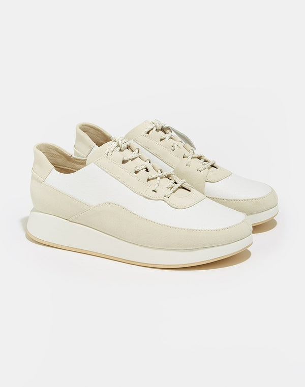Clarks Originals - Kiowa Pace Trainers White