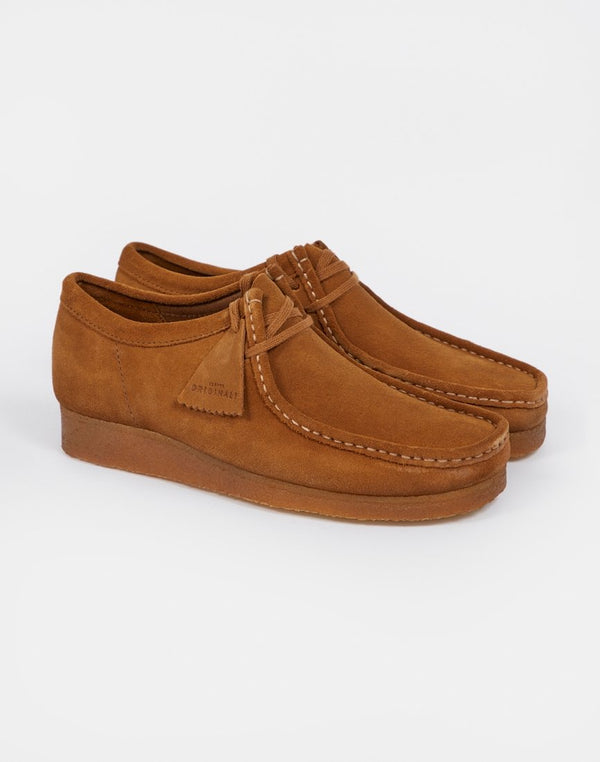 Clarks Originals - Wallabee Seven Cola Brown