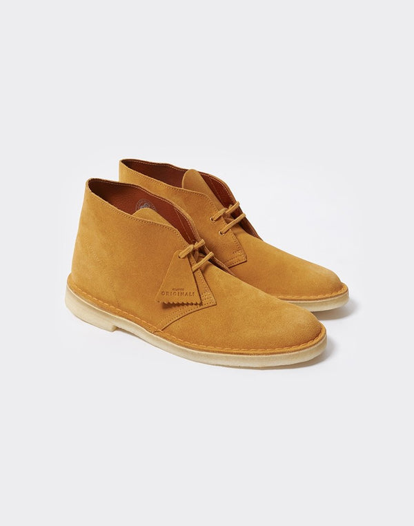 Clarks Originals - Desert Boot Tumeric Yellow