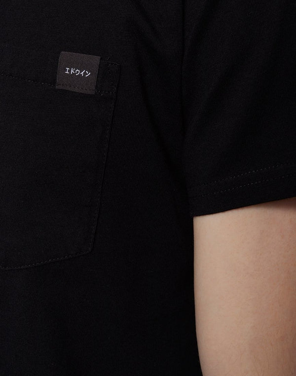 Edwin - Single Jersey Pocket T-Shirt Black
