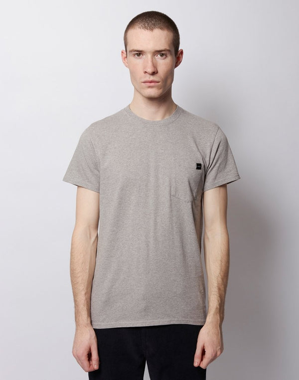 Edwin - Single Jersey Pocket T-Shirt Grey