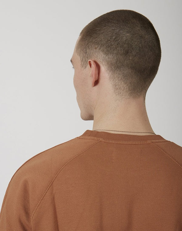 Folk - Rivet Sweatshirt Tan