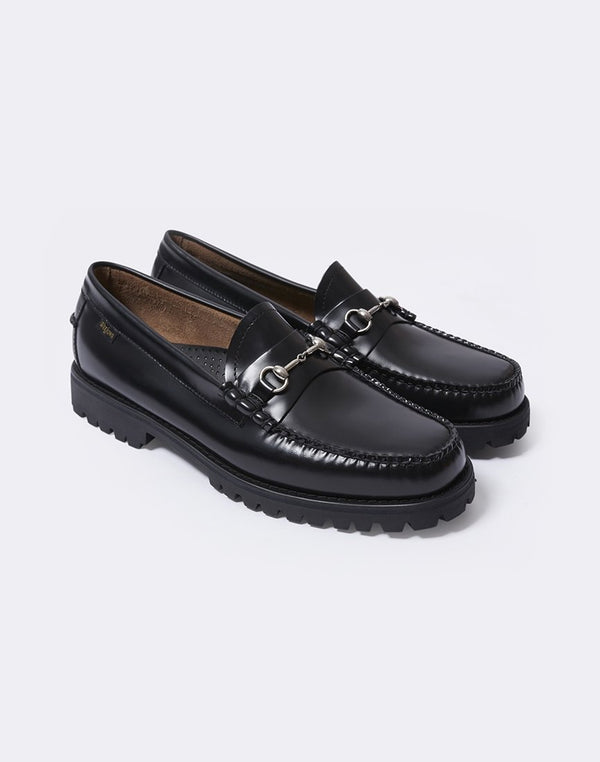 G.H Bass & Co. - Weejun TREAD Lincoln Moc Leather Black
