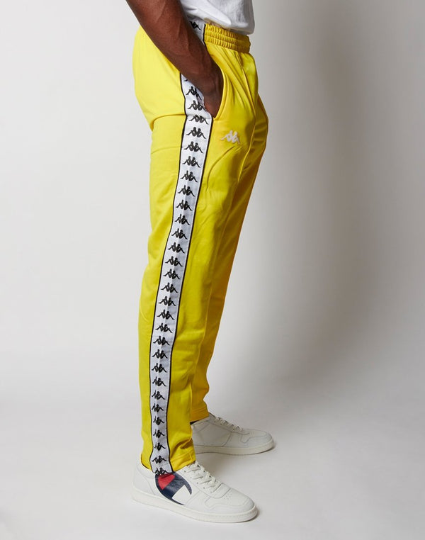 Kappa - Astoria Slim Trouser Yellow Black & White