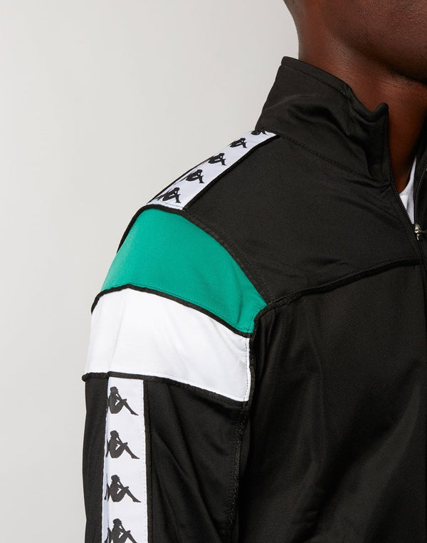 Kappa - Merez Slim Jacket Black & Green