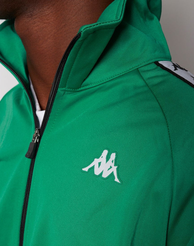 Kappa - Anniston Jacket Green Black & White