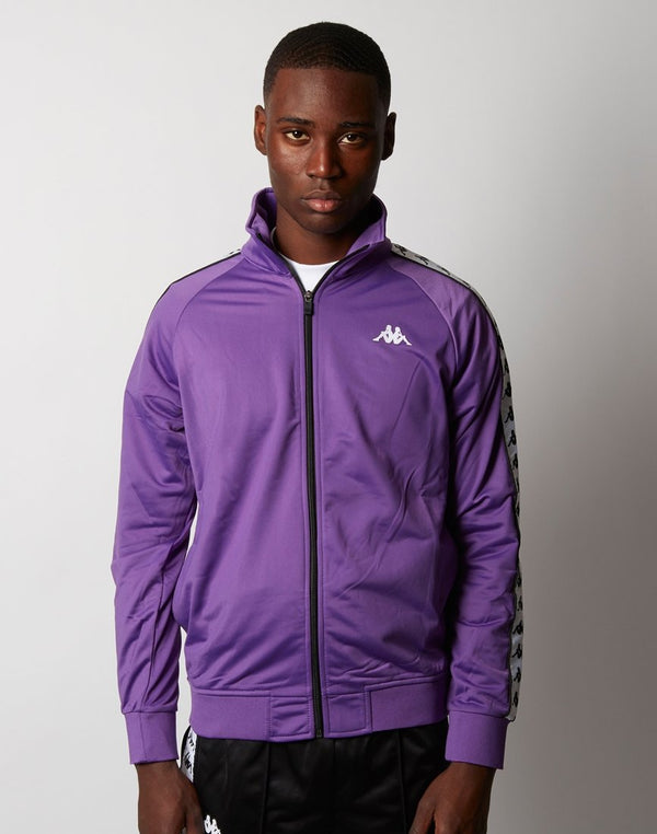 Kappa - Anniston Jacket Violet Black & White