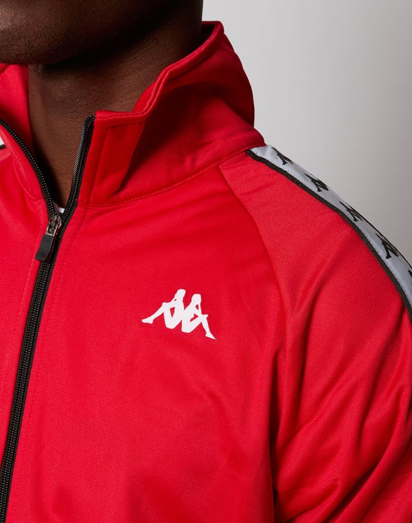 Kappa - Anniston Jacket Red Black & White