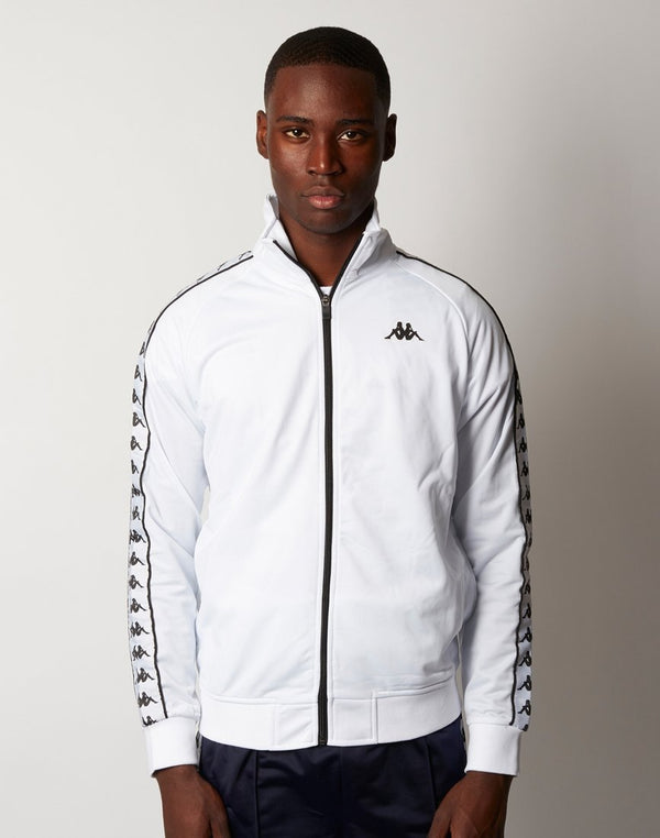 Kappa - Anniston Jacket White Black