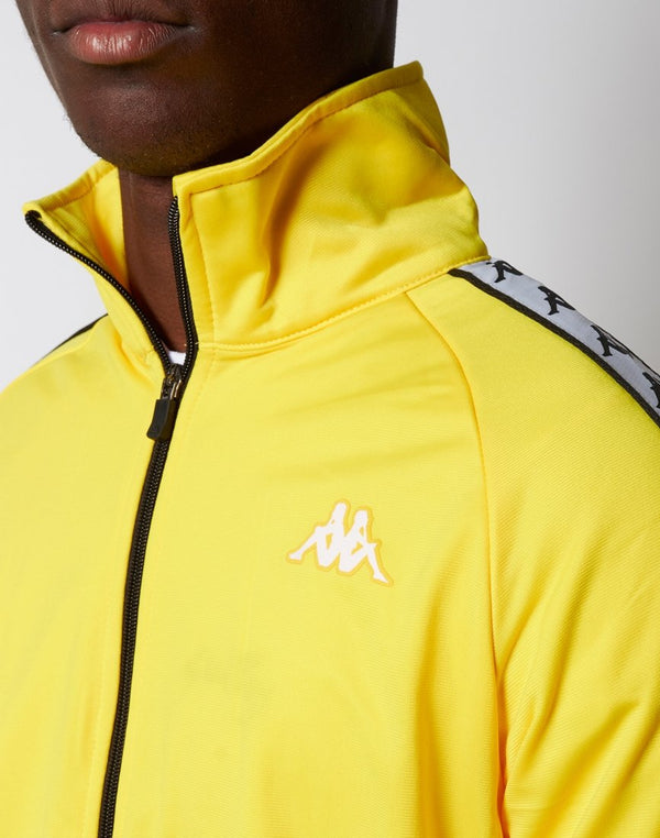 Kappa - Anniston Jacket Yellow Black & White