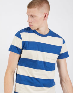 Levi's Vintage Clothing - 1960s Striped T Shirt Blue