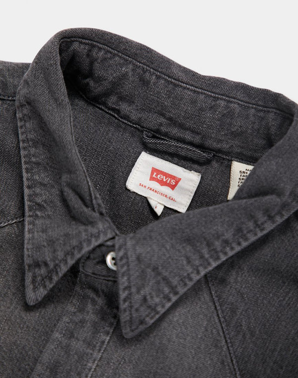 Levi's - Barstow Western Denim Shirt Black Worn In