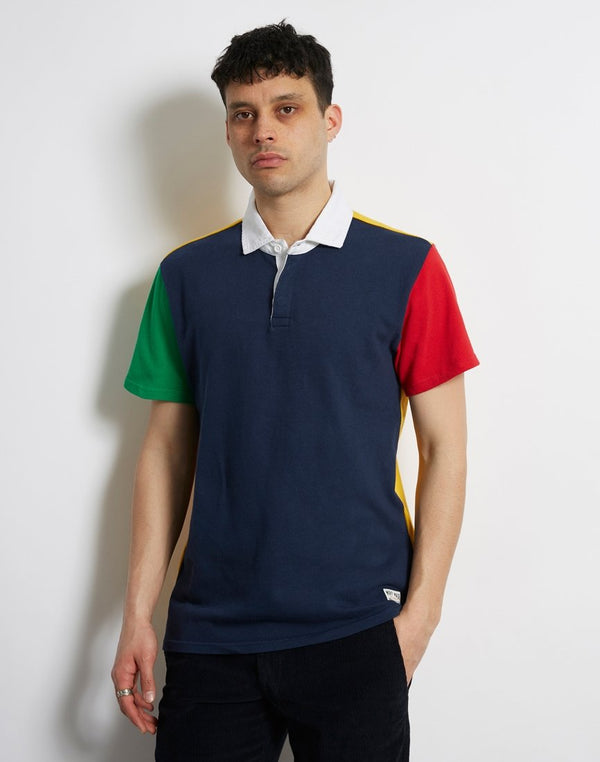 Levi's - Mighty Made Rugby Polo Navy