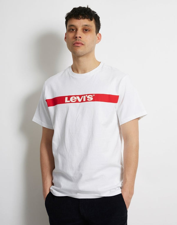 Levi's - Oversized Graphic Tee White