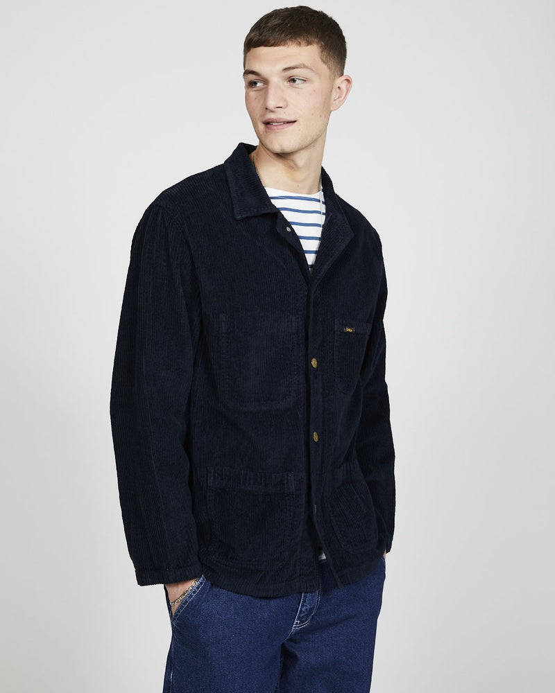 Lois Jeans - French Workers Jacket Jumbo Cord Navy
