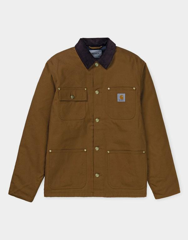 Carhartt WIP - Organic Cotton Michigan Coat Brown