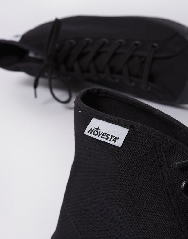 Novesta - Star Dribble Plimsoll All Black